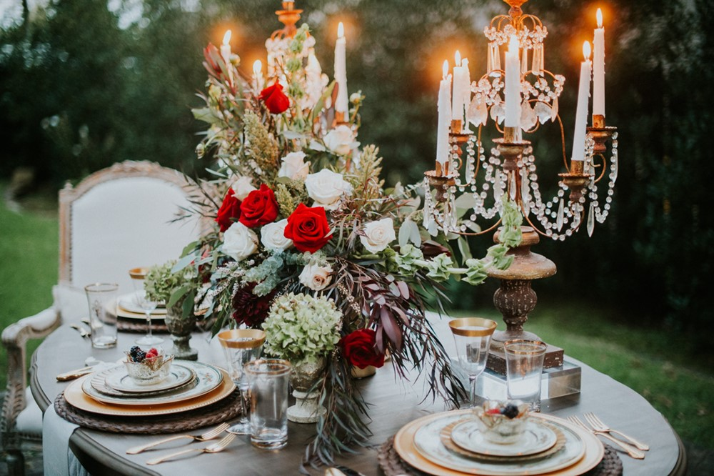 Elopement Wedding Centerpiece // Photography ~ Myranda Randle Photography