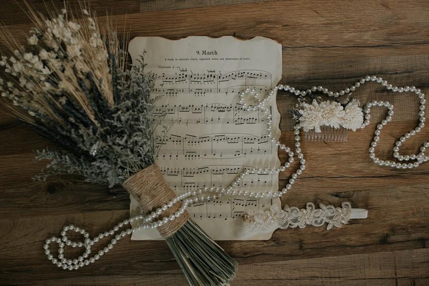 Rustic Vintage Bridal Accessories
