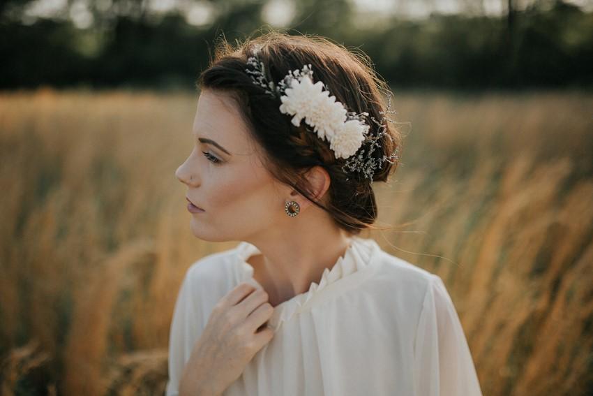 Timeless Rustic Vintage Bride