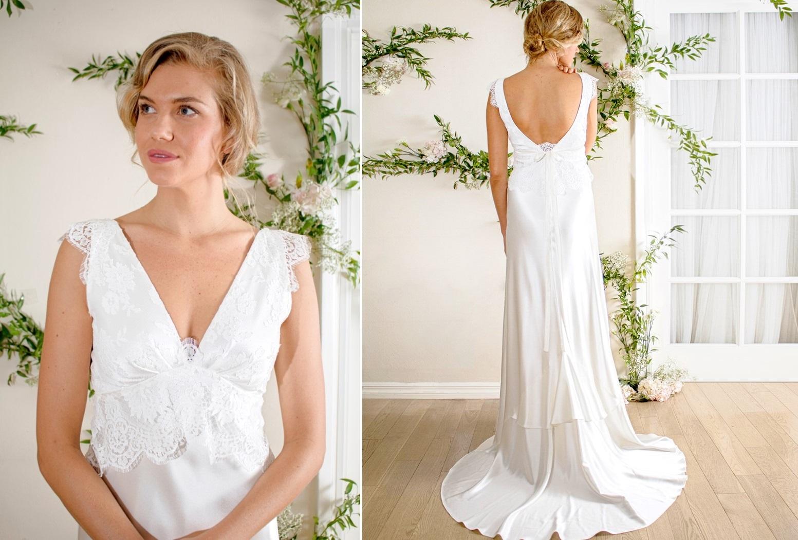 Vintage Inspired Wedding Dress from Rose & Delilah - Avery