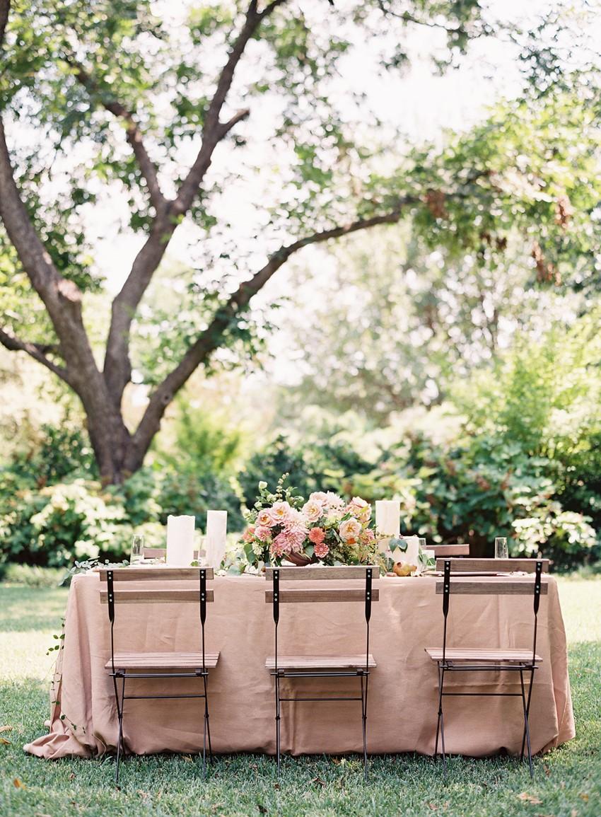 Blush Garden Wedding Inspiration // Photography ~ Kayla Barker Fine Art Photography