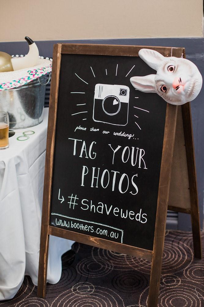 Boho- Vintage Wedding Hashtag // Photography ~ Bless Photography