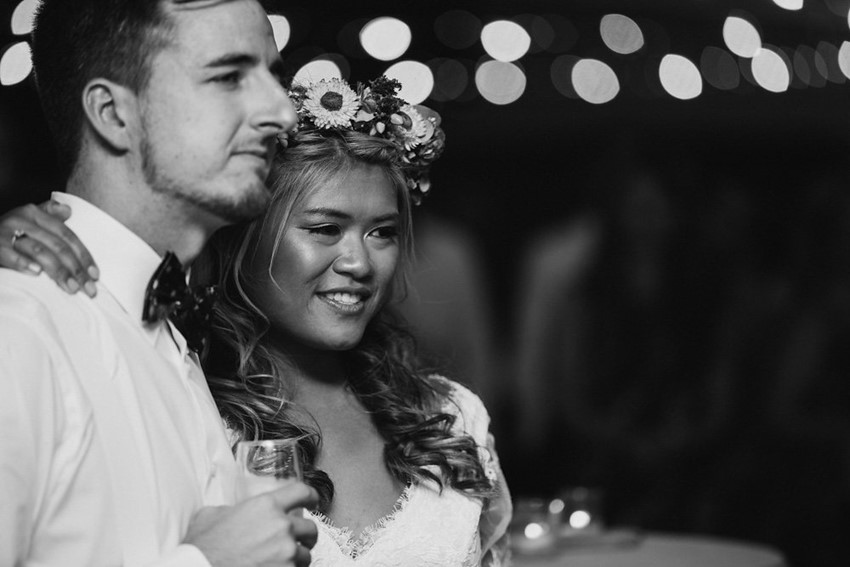 Relaxed Wedding Reception // Photography ~ Bless Photography