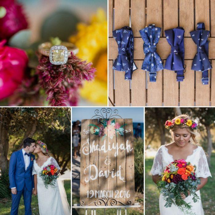 A Relaxed & Romantic Boho-Vintage Wedding
