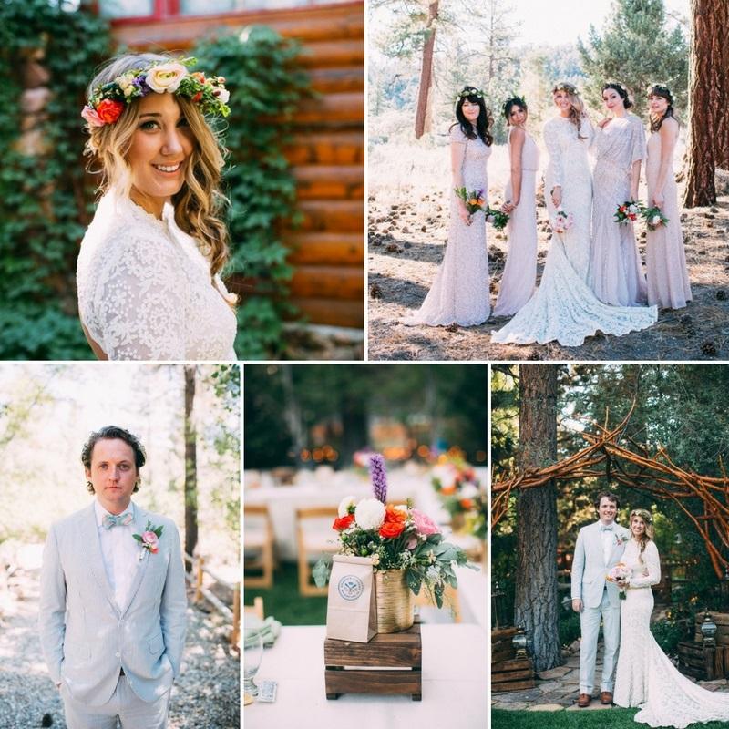 Glamorous Boho Vintage Wedding // Photography ~ The Darlene