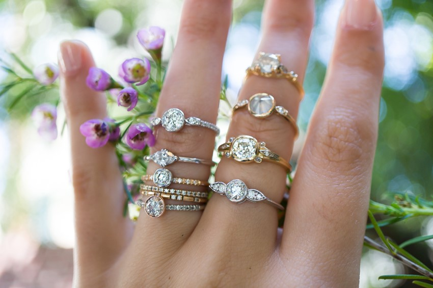 Ethical Modern Vintage Engagement Rings from S. Kind & Co