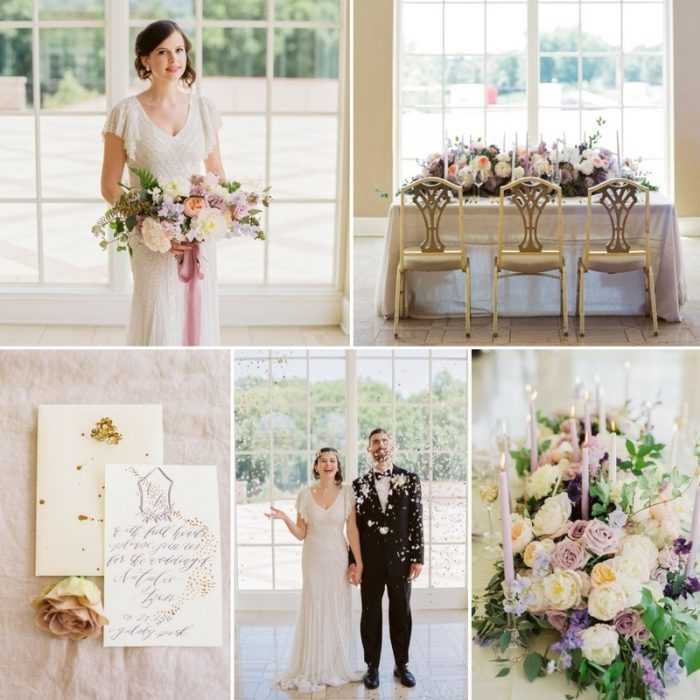 Romantic Great Gatsby Wedding Inspiration