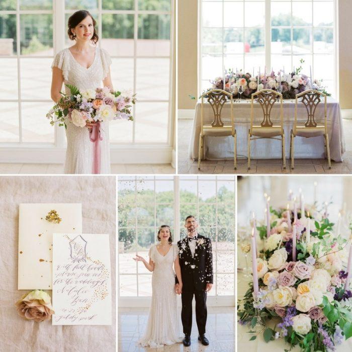 Romantic Great Gatsby Wedding Inspiration