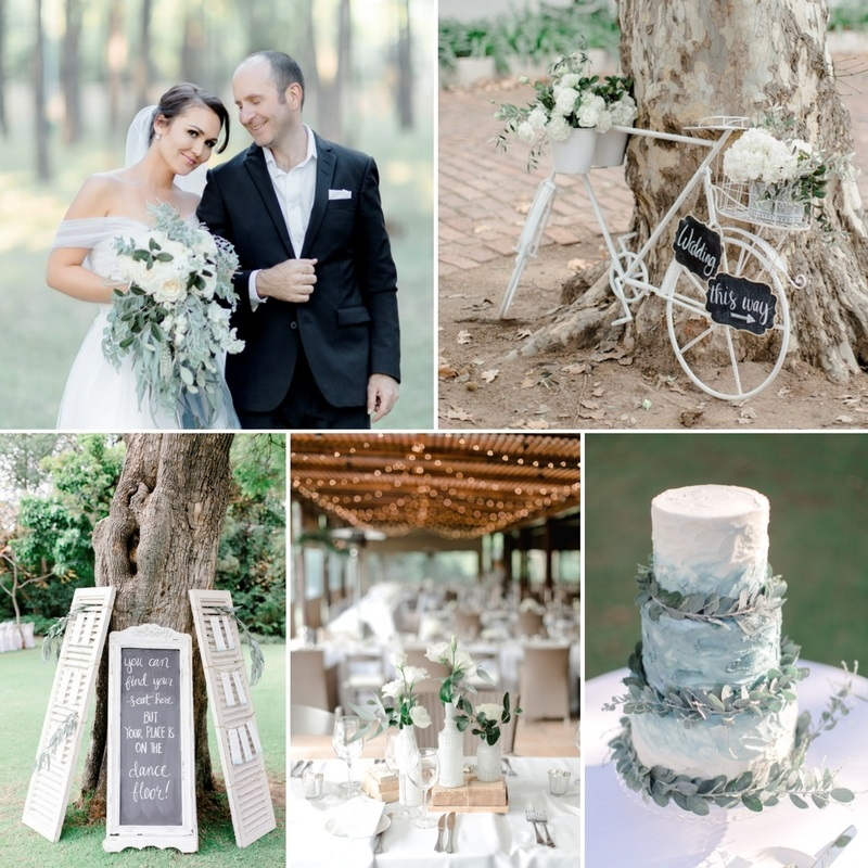A Timelessly Modern Vintage Wedding In Heavenly Shades Of Blue Greyed Jade
