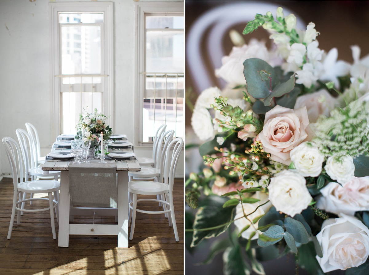 Elegant Wedding Tablescape
