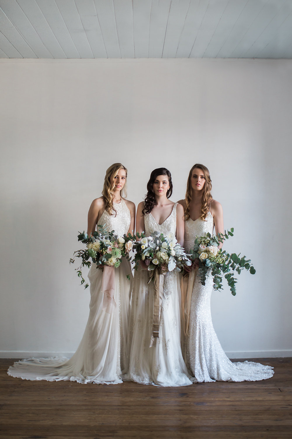 Three Stunning Bridal Looks