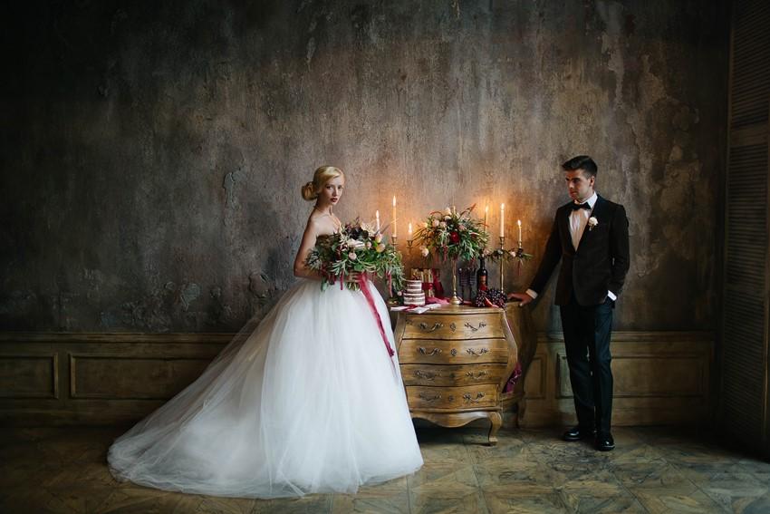 Timelessly Elegant Bride & Groom