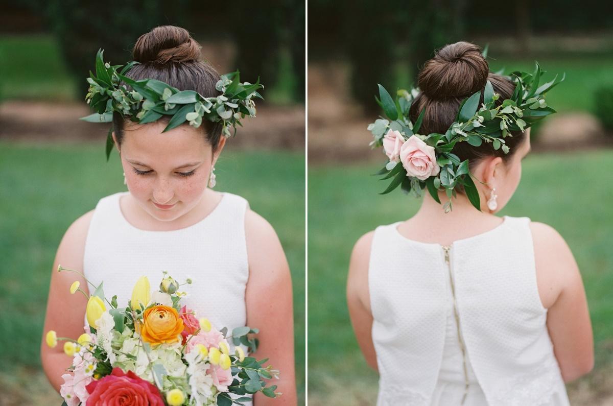 Boho Vintage Flower Girl