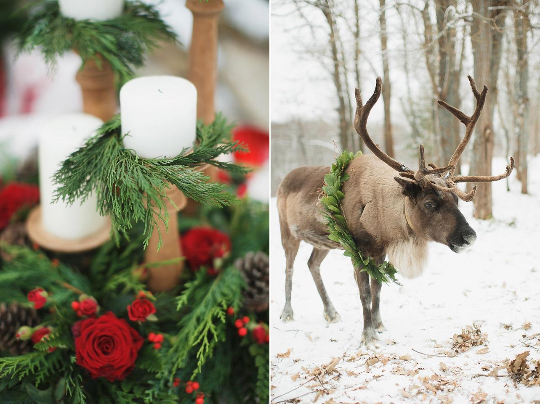 Russian Rustic Christmas Wedding Inspiration