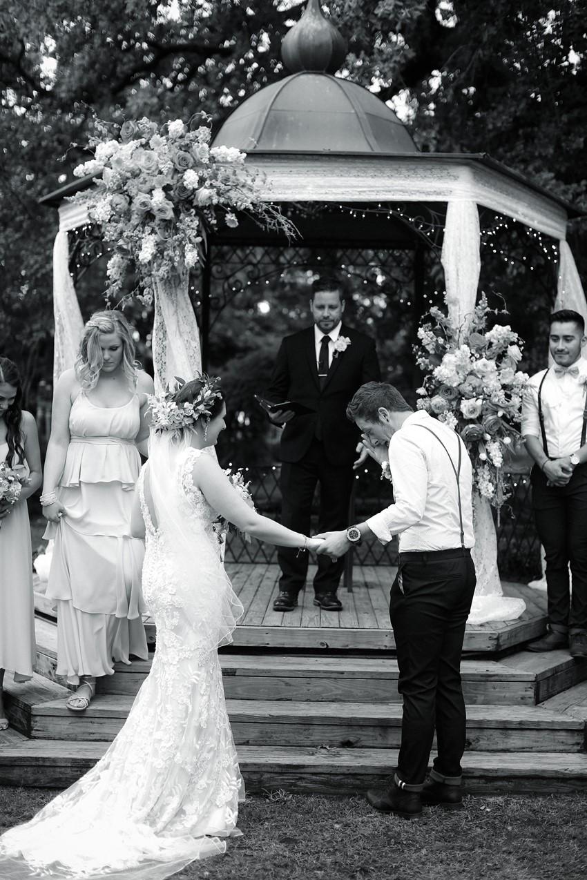 Heartfelt Garden Wedding Ceremony