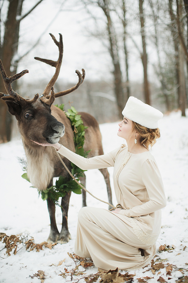 Russian Rustic Winter Wedding Inspiration