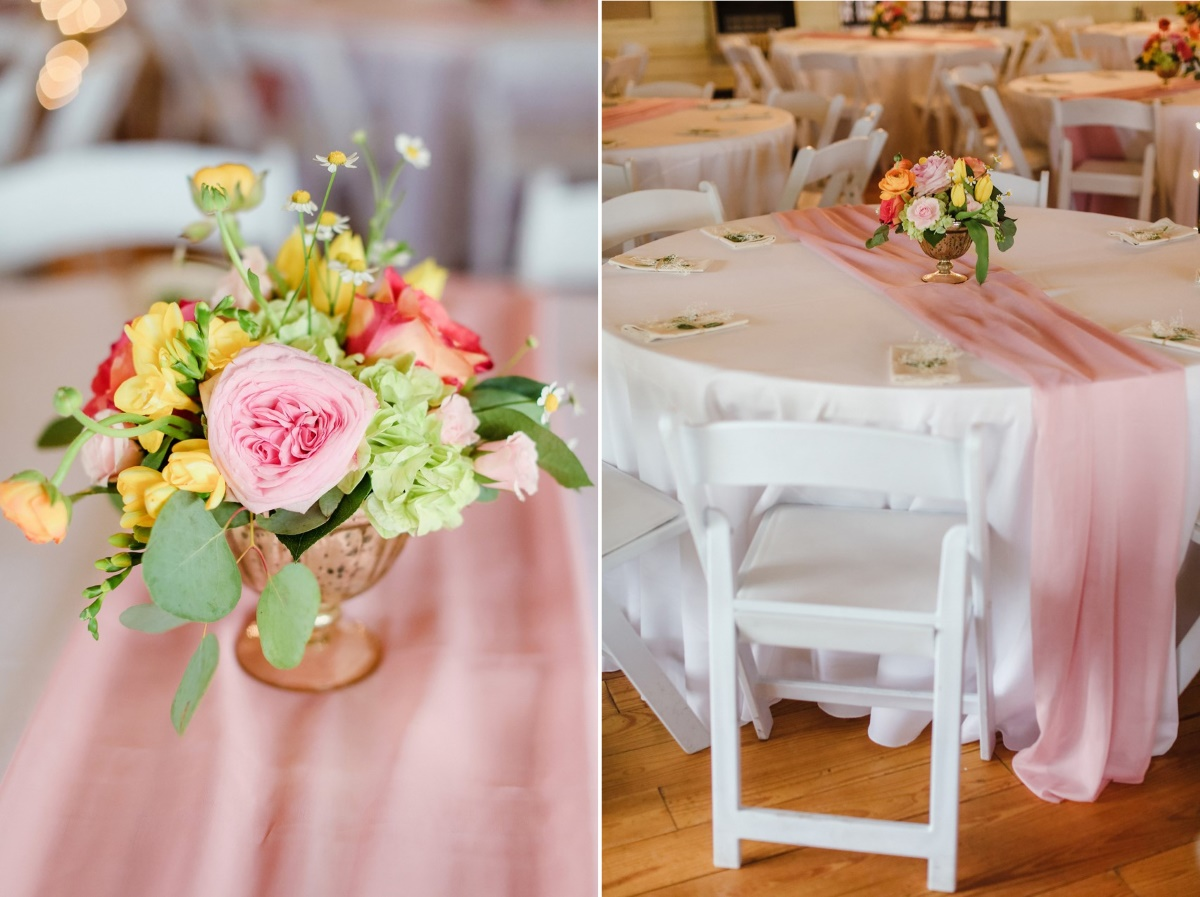 Romantic Vintage Inspired Wedding Tablescape