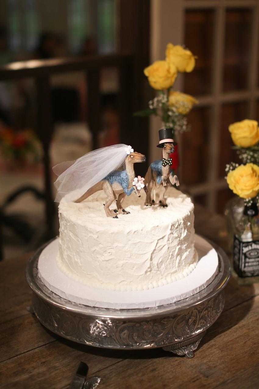 Dinosaur Groom's Cake