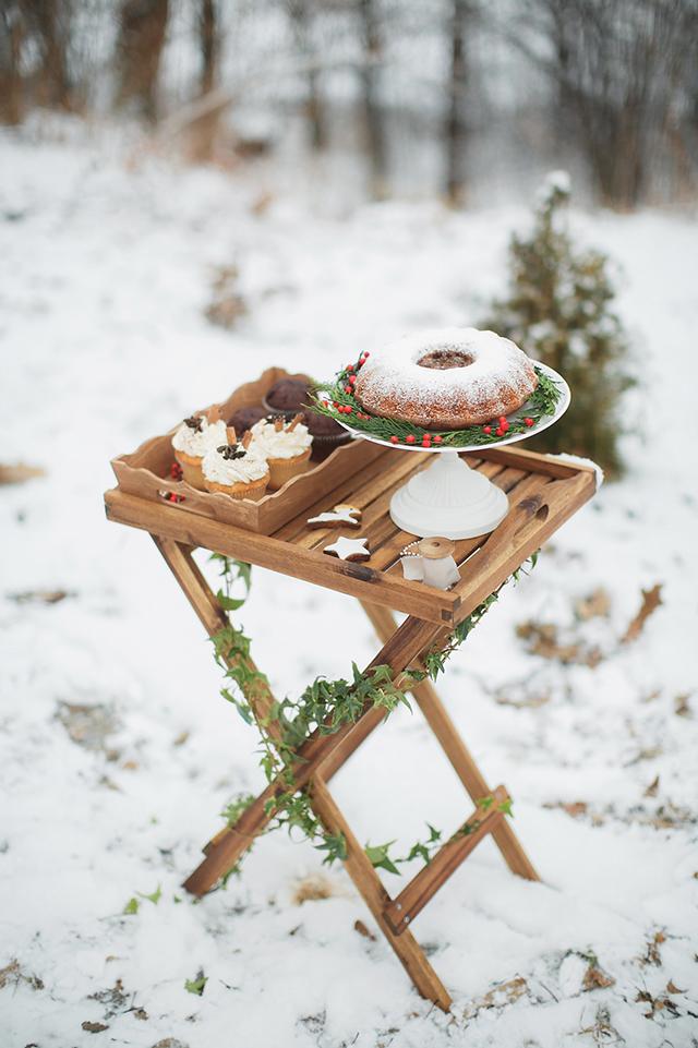 Russian Christmas Bundt Wedding Cake