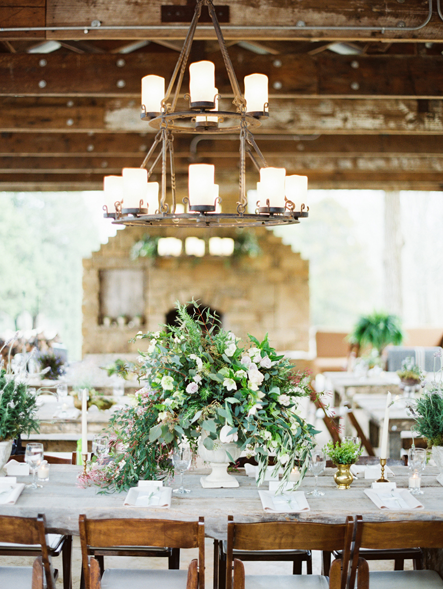 Greenery Floral Wedding Centerpiece