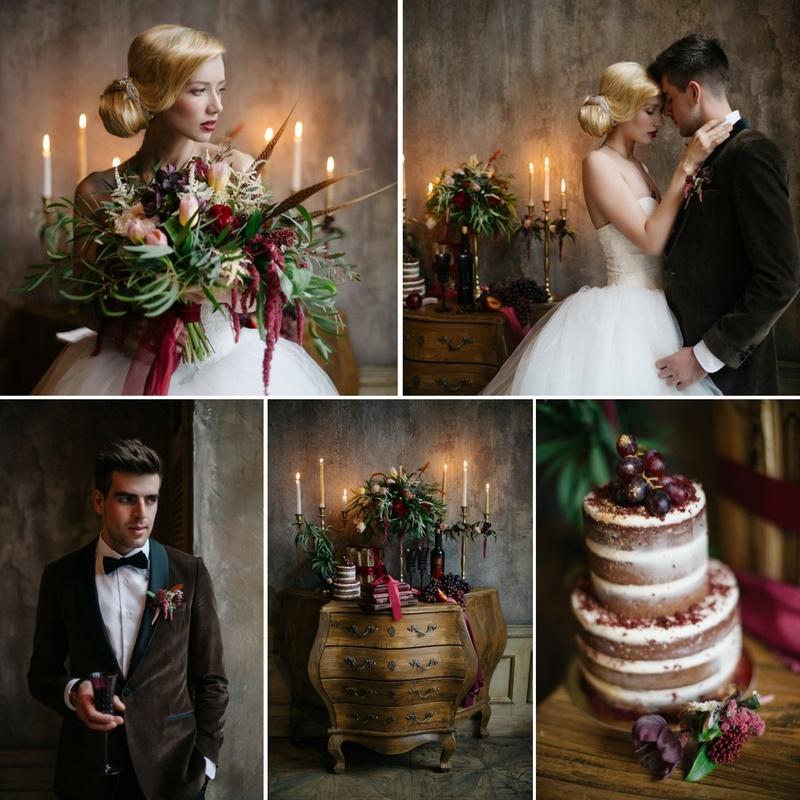 Timelessly Elegant, Candlelit Wedding Inspiration