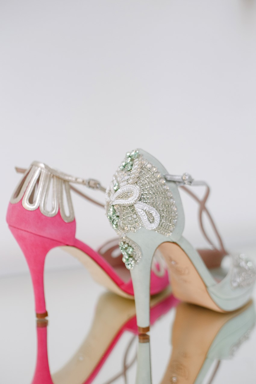 Botanical Bridal Shoes from Emmy London's 2017 Collection