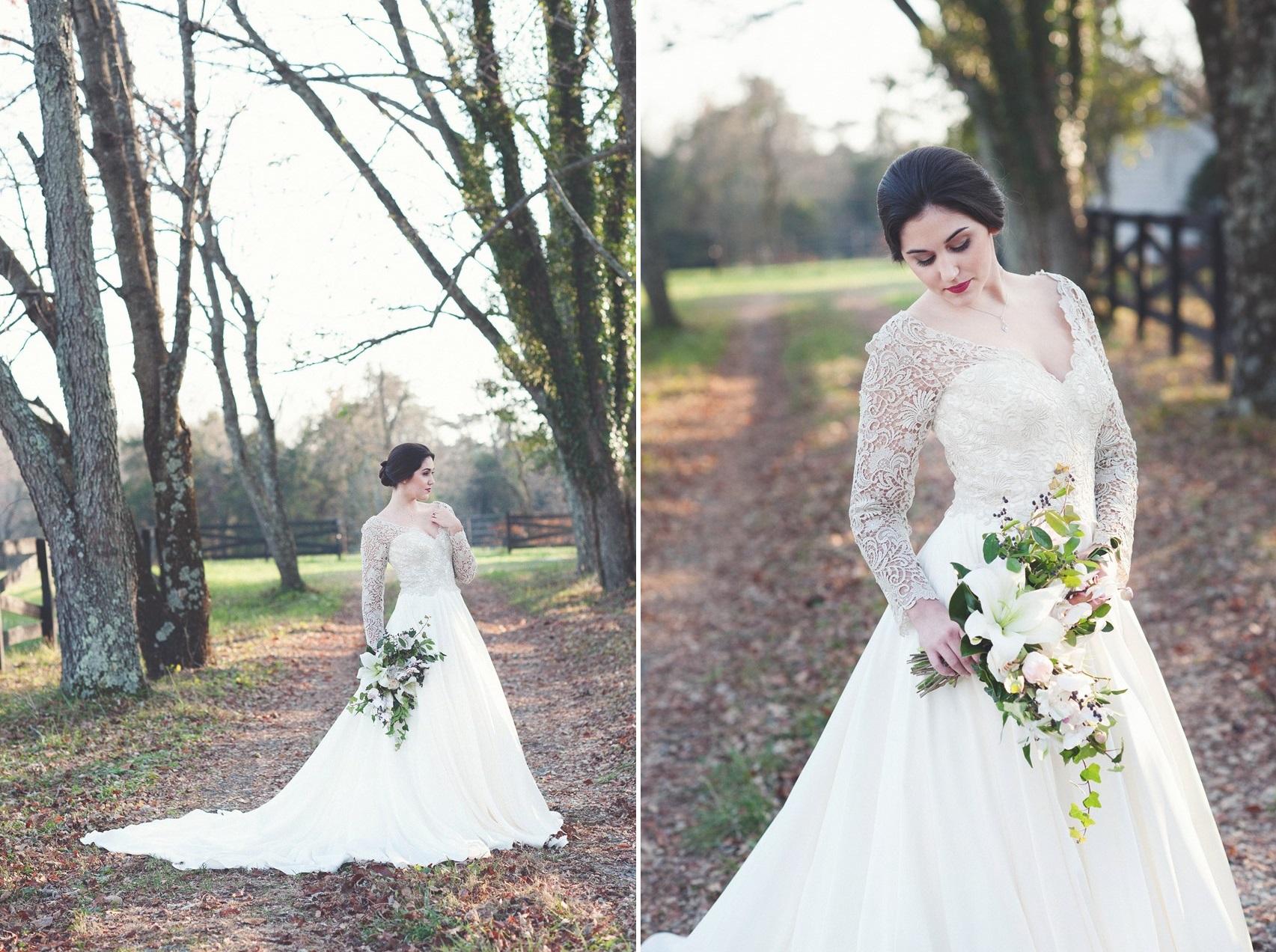 Timelessly Elegant White Bridal Bouquet