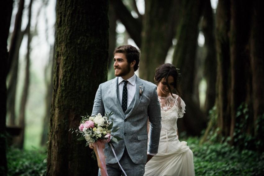 Romantic Woodland Elopement