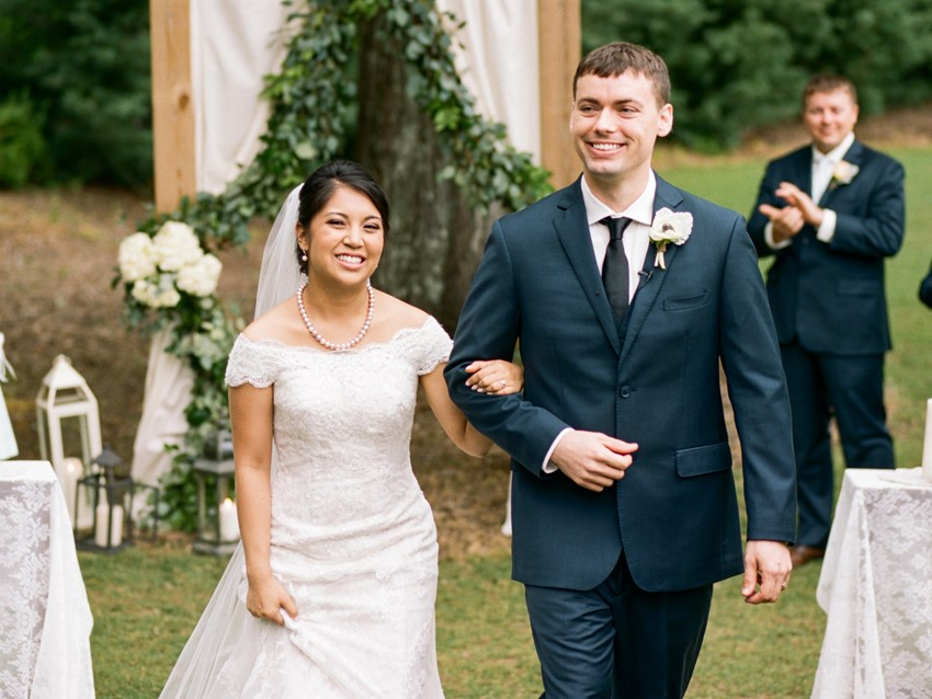 Sweet Garden Wedding Ceremony