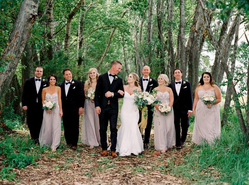 Romantic Elegant Wedding Party