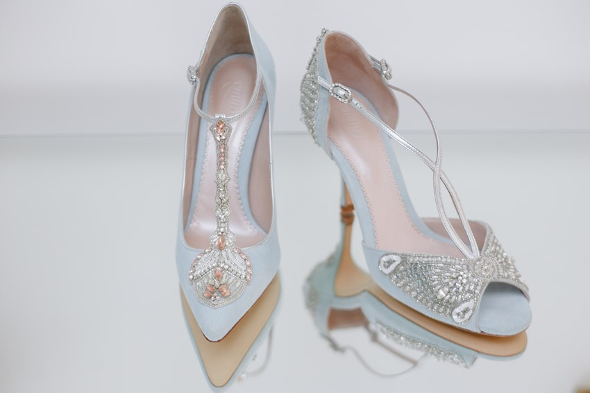 Exquisitely Embellished Bridal Shoes from Emmy London