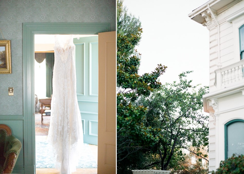 Vintage Inspired Wedding Dress & Venue // Photography ~ Trynh Photo