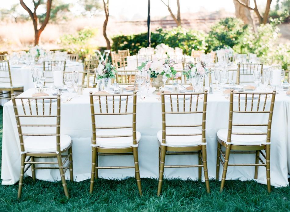 Romantic Garden Wedding Reception // Photography ~ Trynh Photo