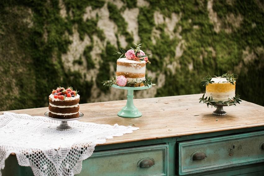 Woodland Wedding Dessert Table