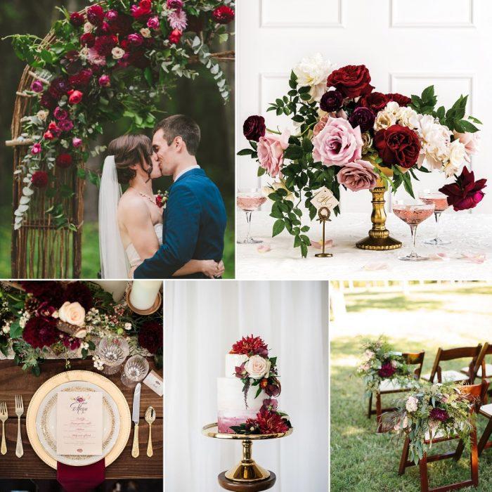 21 Gorgeous Garnet Wedding Ideas