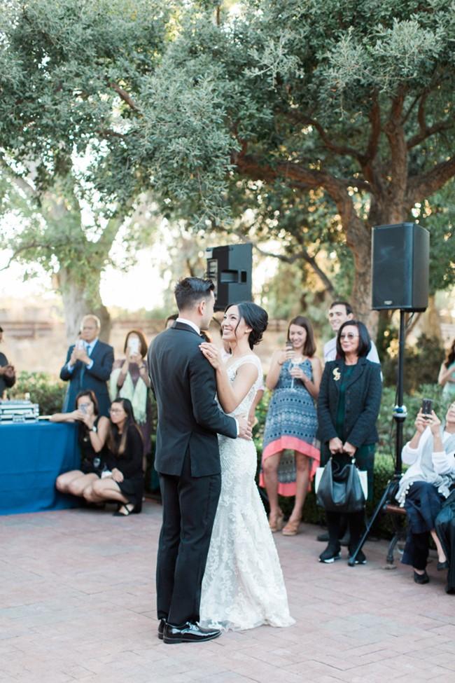 Garden Wedding First Dance // Photography ~ Trynh Photo
