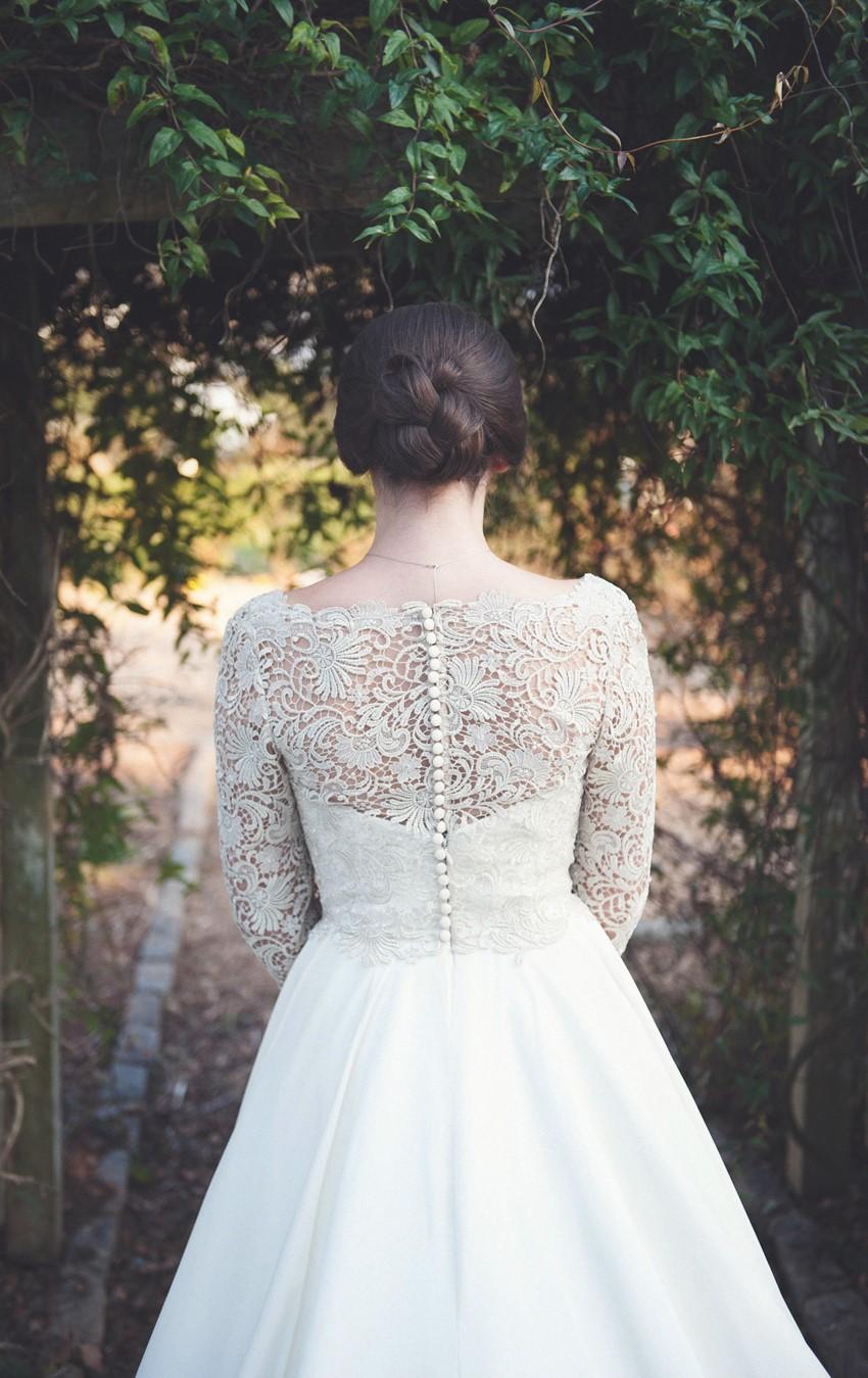 Timelessly Elegant Bridal Updo