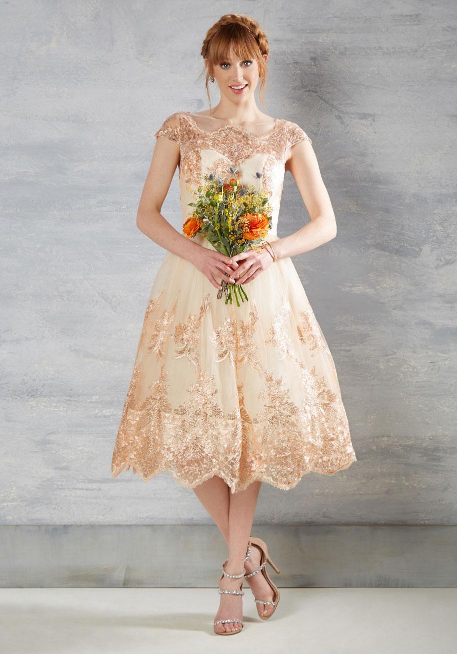 Boundless Fascination Lace Bridesmaid Dress