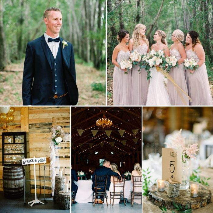 Elegant Vintage Barn Wedding