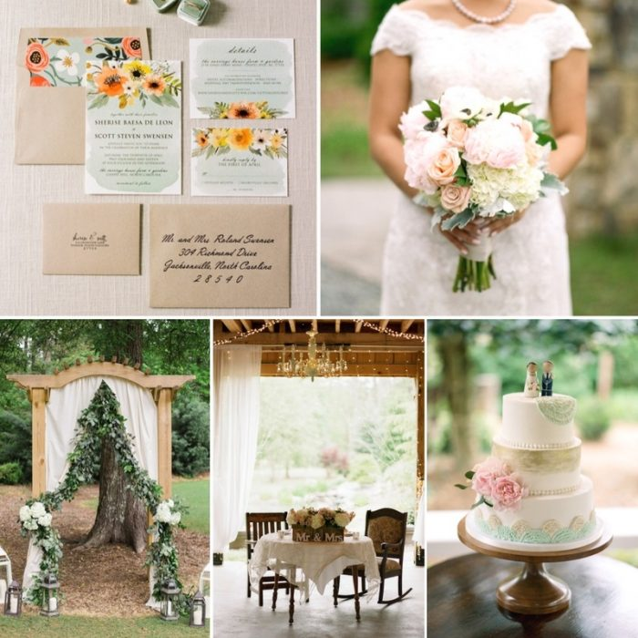 A Charming & Inviting Spring Wedding