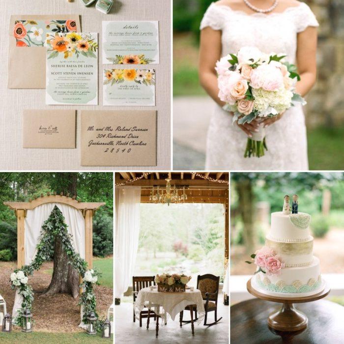A Charming & Inviting Spring Wedding