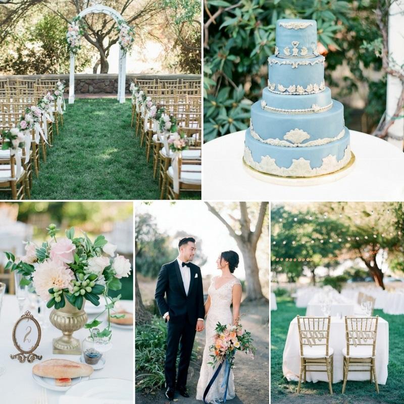 A Romantic Vintage-Inspired Garden Wedding