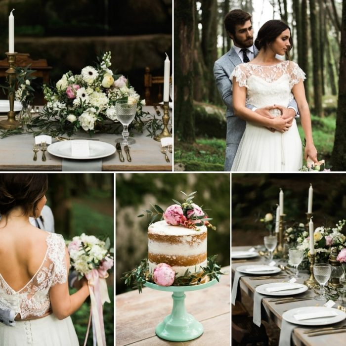 'Forest & Fog' - Enchanting Woodland Elopement Inspiration
