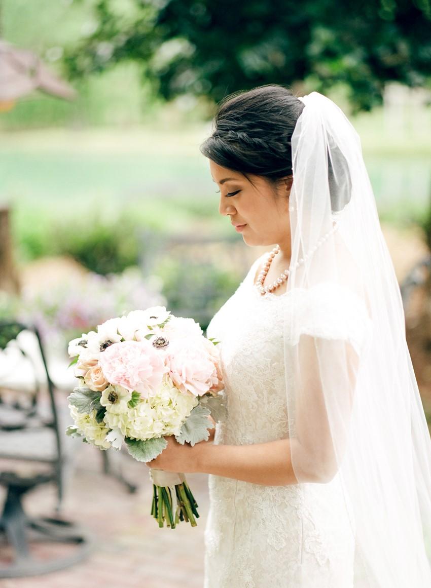 Sweet Spring Bridal Look