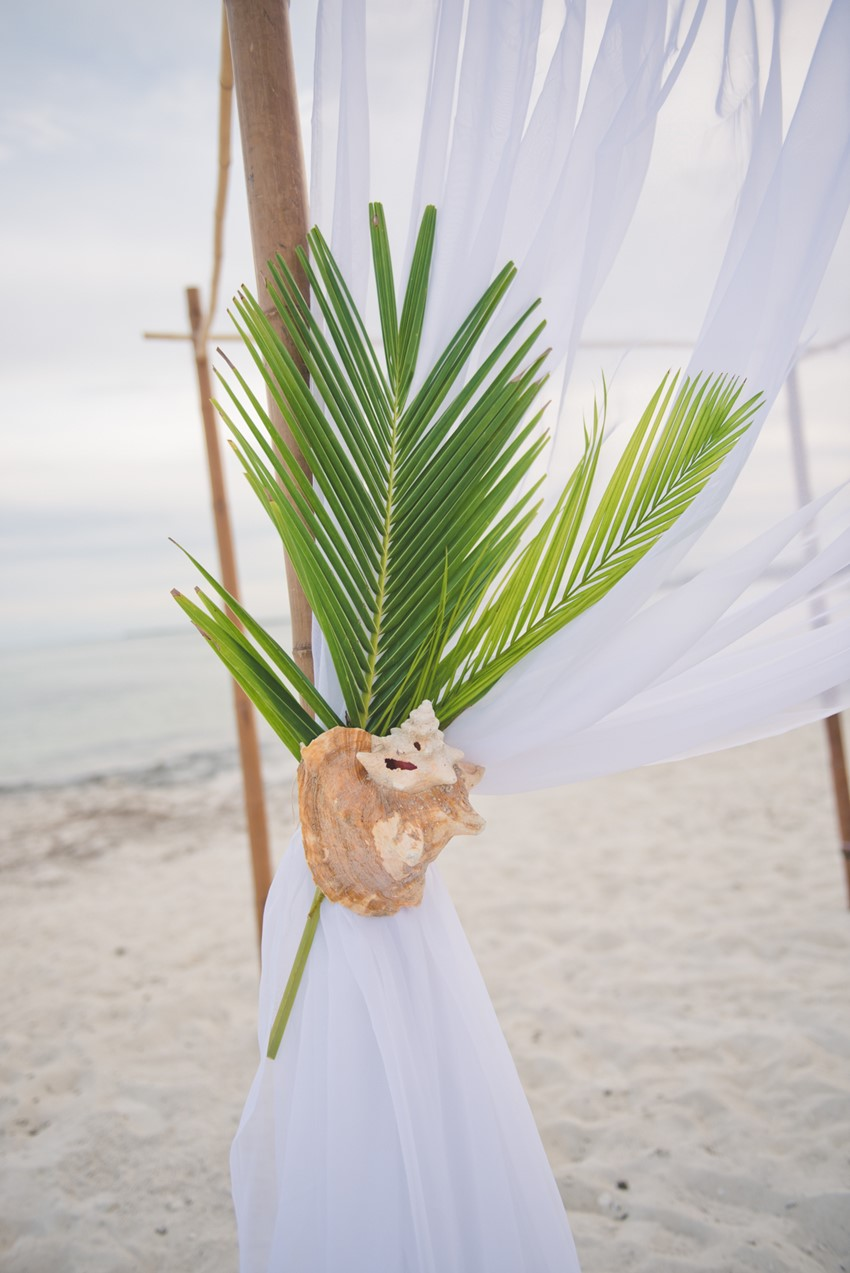 Destination Beach Wedding Ceremony