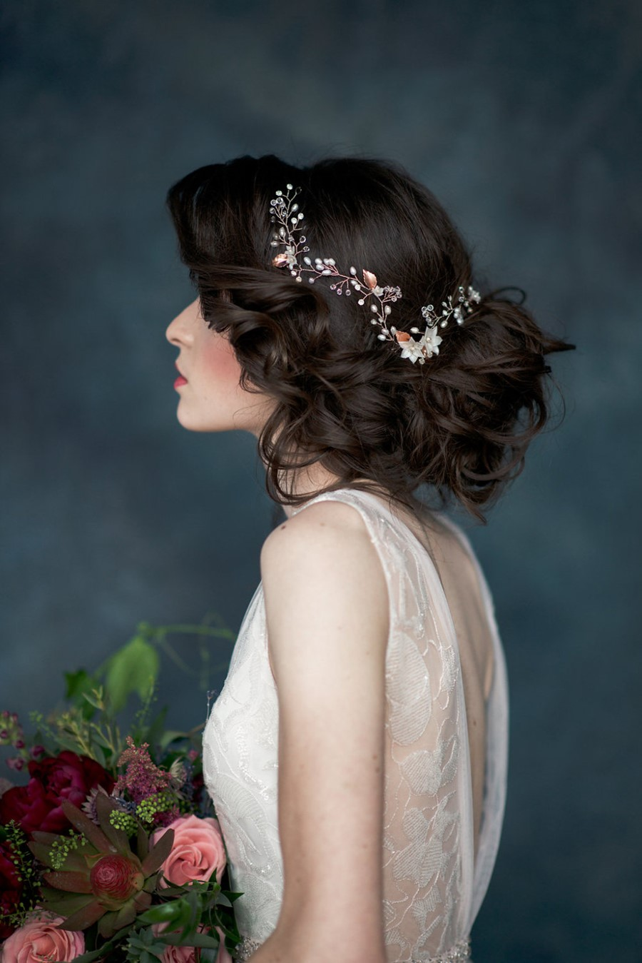 Etta Floral Hair Vine