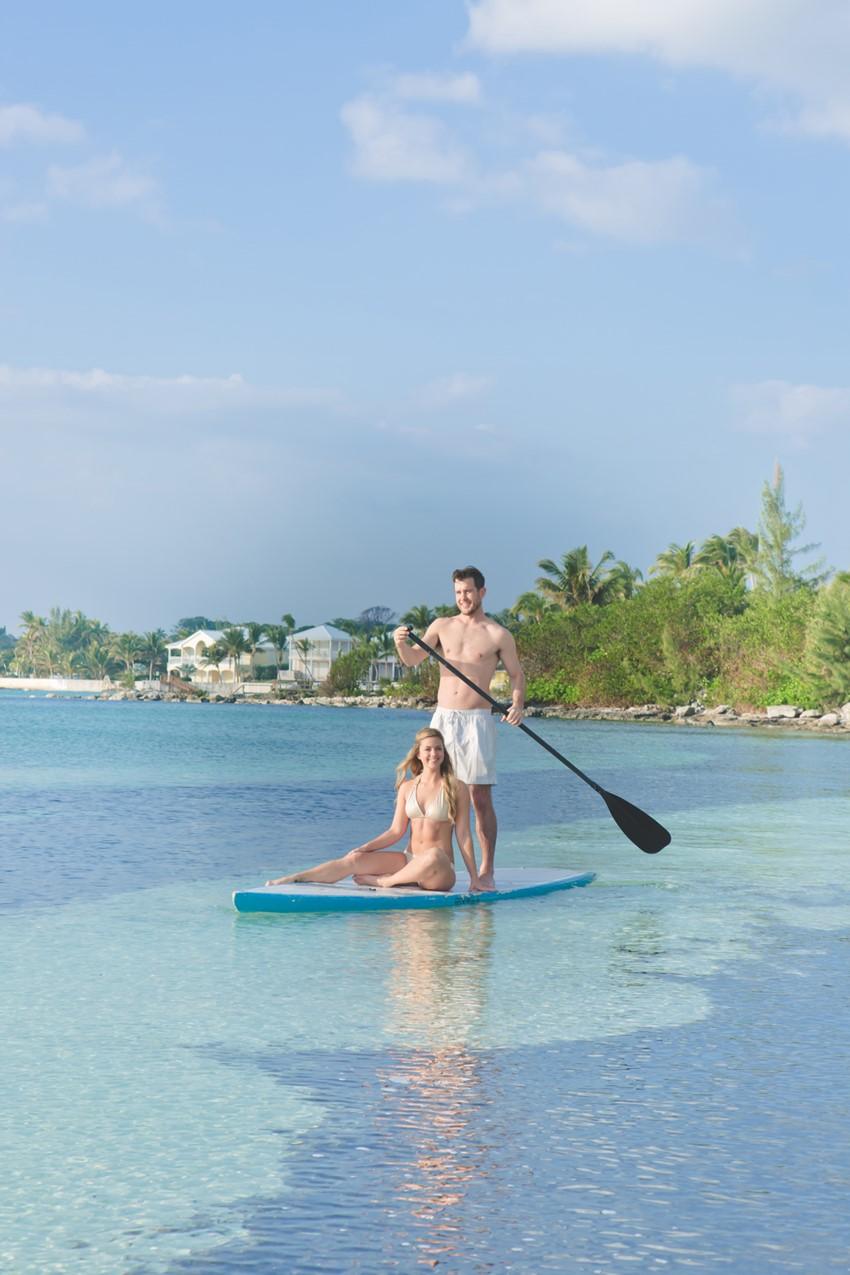 Paddleboarding at Abaco Beach Resort