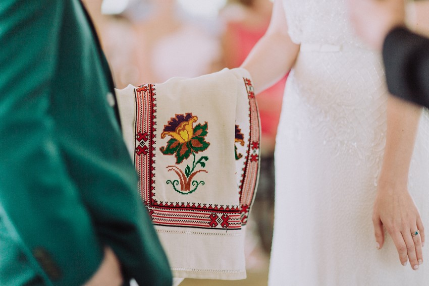 Traditional Ukrainian Hand Fasting Wedding Ceremony