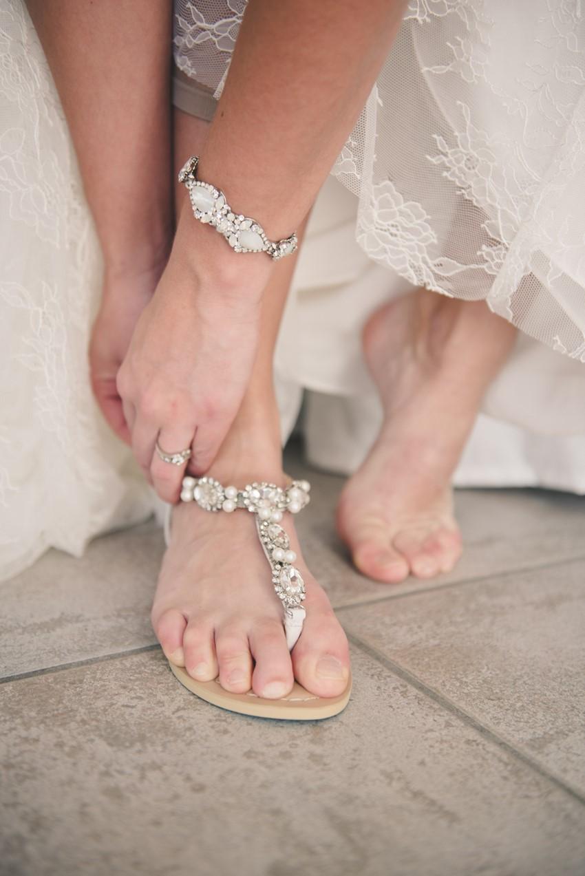 Beach Bride Sandals by Bella Belle Shoes