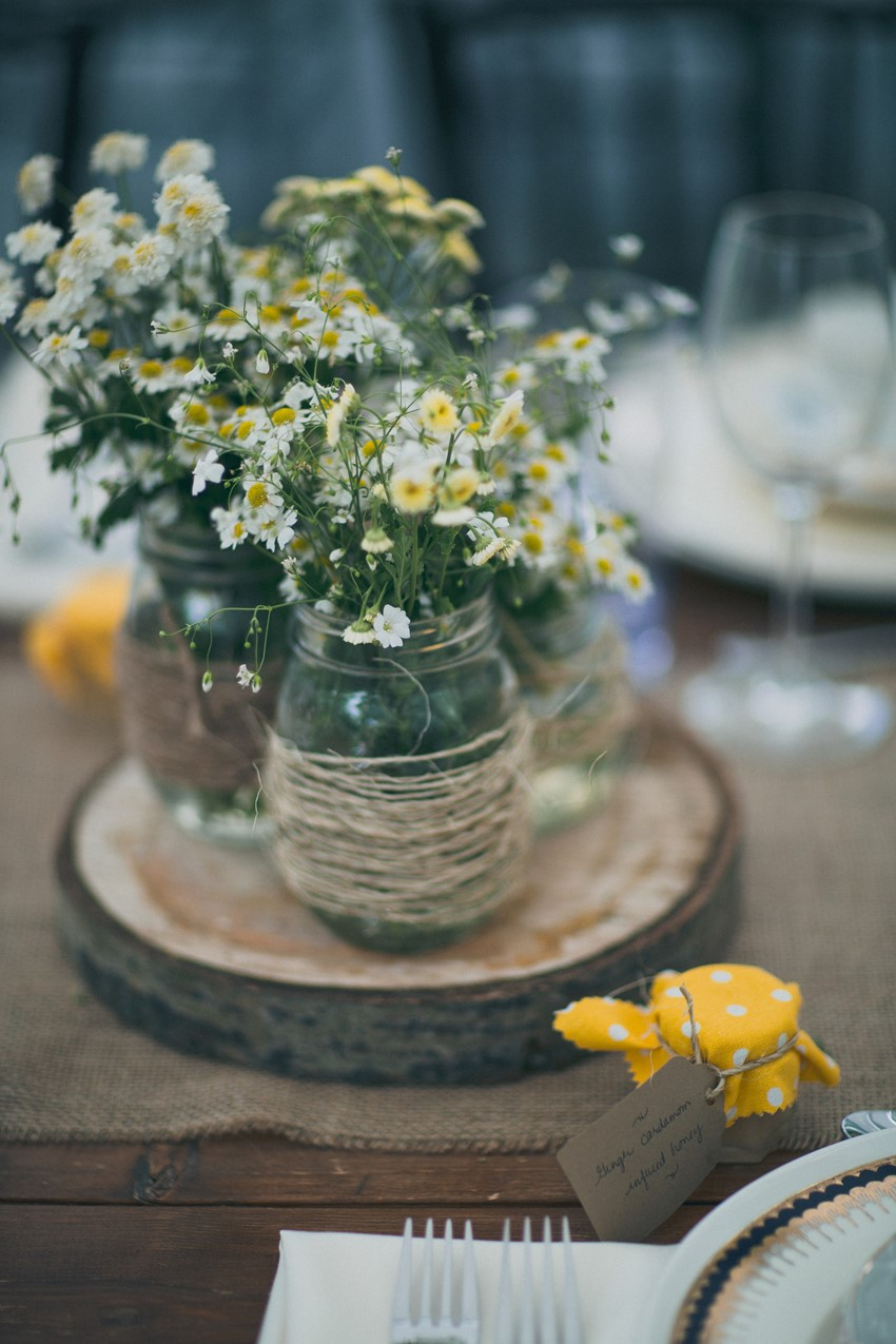 Vintage Wedding DIY Centerpiece